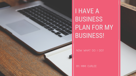 I have a business plan now what