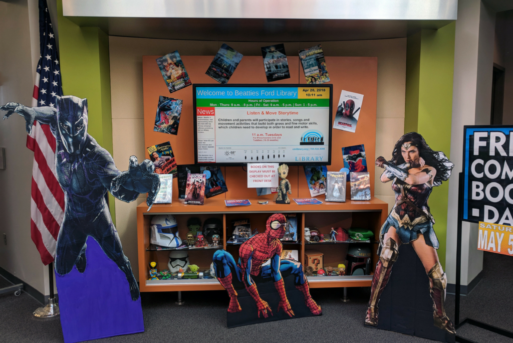 Free Comic Book Day at Beatties Ford Road Library