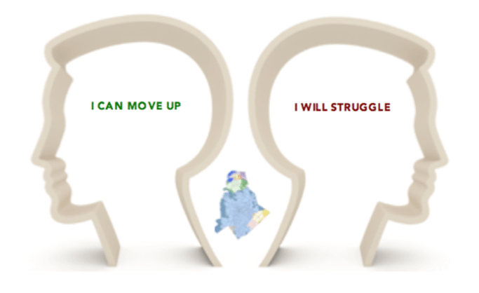 move up or struggle