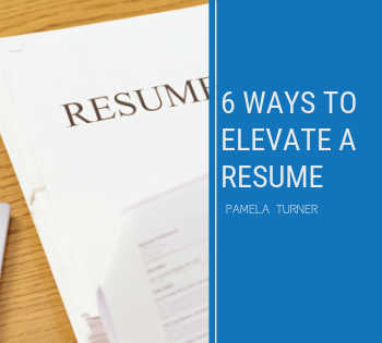 elevate a resume