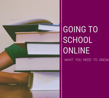 going to school online