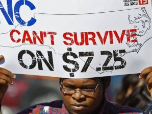 When Charlotte's employers raise minimum wages, contract workers are often left out
