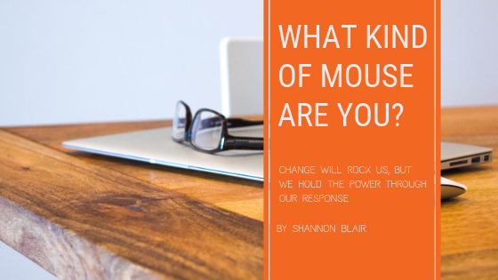 Changing Your Career:  What Kind of Mouse Are You?