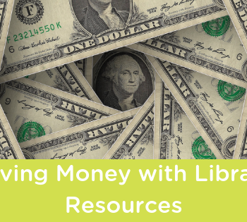 saving money with library resources