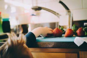 Kid in Kitchen