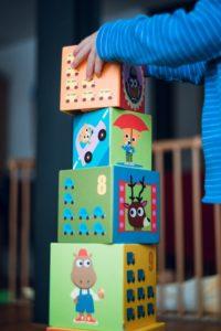 Colorful building blocks.