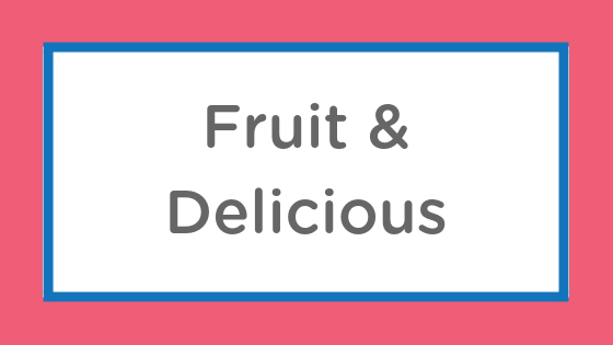 fruit delicious