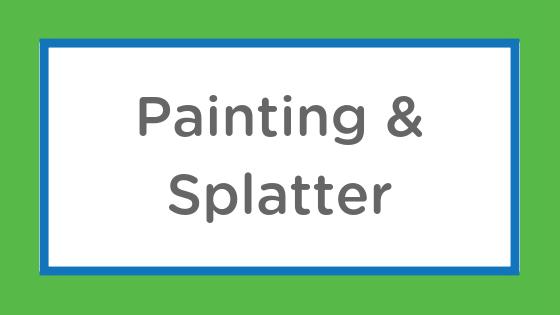 painting splatter