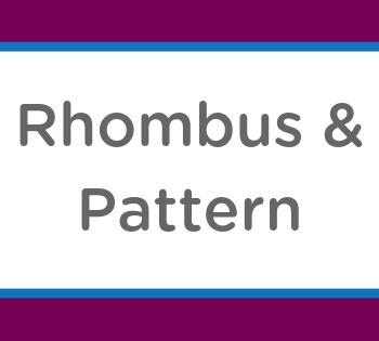 rhombus pattern