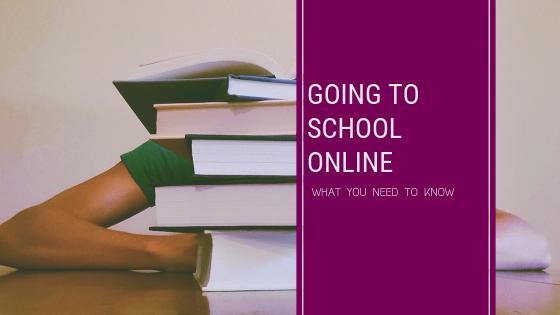 going to school online