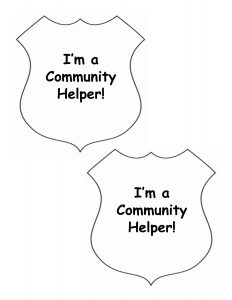 Community Helper Badge