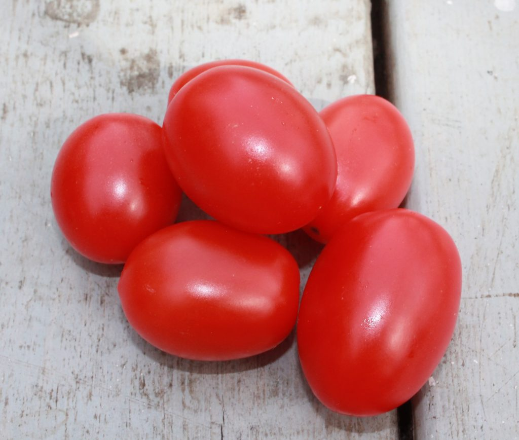Photo of roma tomatoes