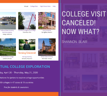 College Visit Canceled! Now What