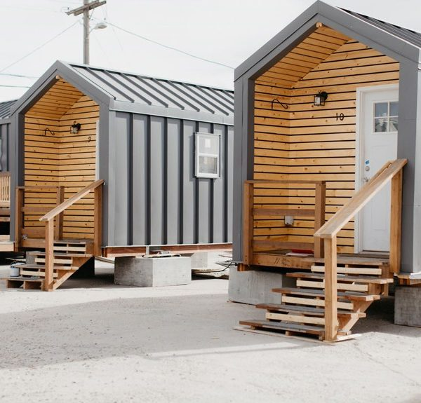 three Denver tiny homes