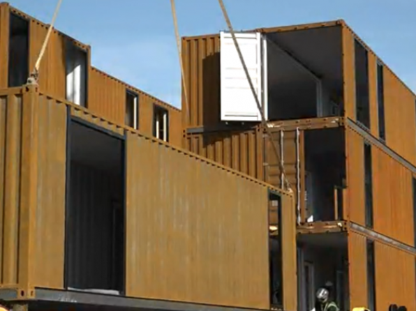 Nashville's shipping container apartments could be inspiration for Charlotte
