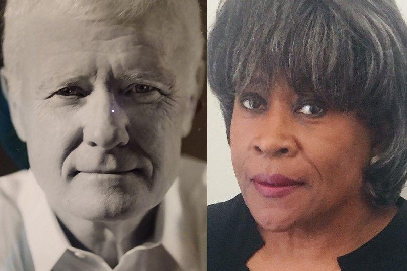 Charlotte Readers Podcast: Barbara Johnson and Roger Colberg