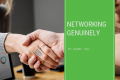 Networking Genuinely