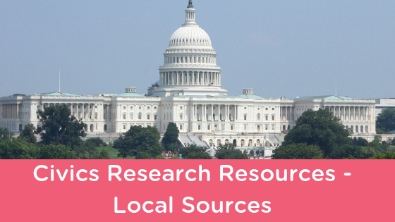 Civics Research Resources – Local Sources