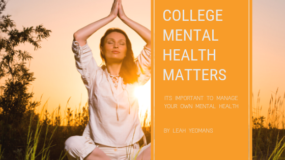 College Mental Health Matters